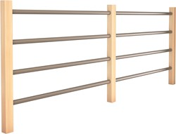 houten ballustrade zelfbouwpakket